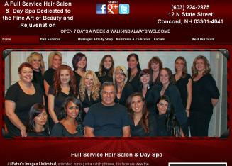 Peter%27s+Images+Unlimited+Salon+%26+Day+Spa+LLC Website
