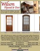 Wilson+Plywood+%26+Door+Inc Website