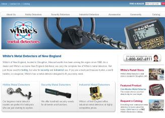 White%27s+Metal+Detectors Website