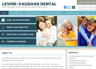 Levine-Vaughan+Dental+Associates Website