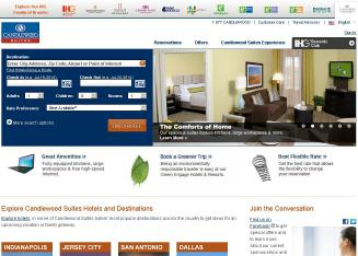 Candlewood+Suites+West+Little+Rock Website