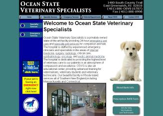 Ocean+State+Veterinary+Specialists Website