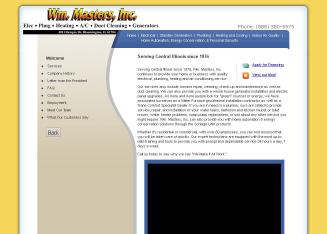 Wm+Masters+Inc Website