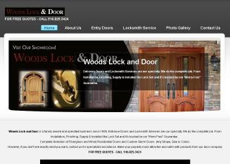 Woods+Lock+%26+Door Website