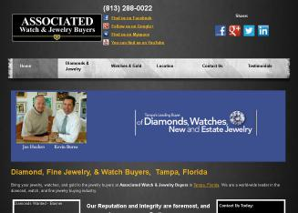 Associated+Watch+%26+Jewelry+Buyers Website