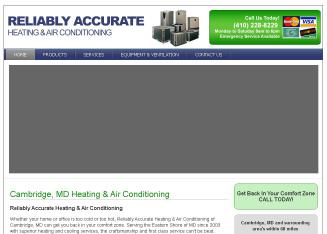 Reliably Accurate Heating & Air Conditioning