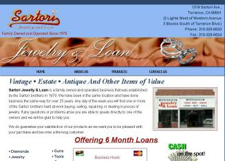 Sartori+Jewelry+%26+Loan Website