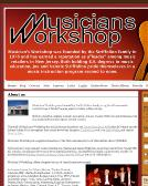 Musicians+Workshop Website