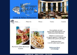 Mediterranean+Breeze Website