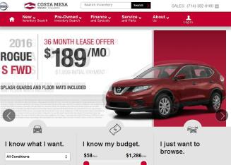 Connell+Nissan Website