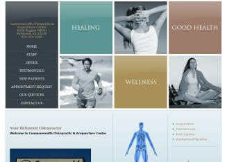Commonwealth+Chiropractic+%26+Acupuncture+Center+PC Website