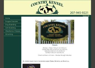 Country+Kennel Website