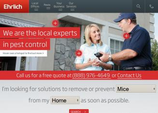 Ehrlich+-+Your+Local+Pest+Control+Experts Website
