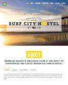 Surf+City+Hostel Website