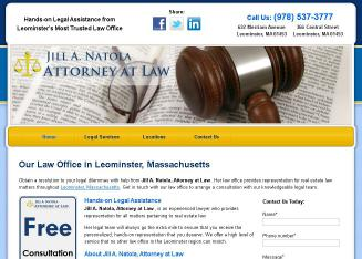 Jill+A+Natola+Law+Offices Website
