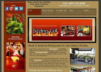 Sizzling+Grill Website