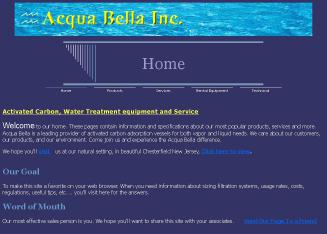 Acqua+Bella+Inc Website