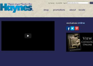 Haynes+Furniture Website