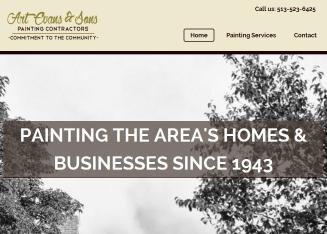 Evans+%26+Sons+Painting+Contractors Website