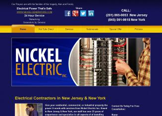 Nickel+Electric+Inc Website