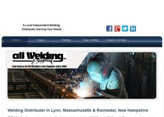 All+Welding+Supplies+Inc Website