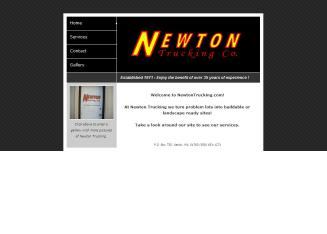 Newton+Trucking+CO Website