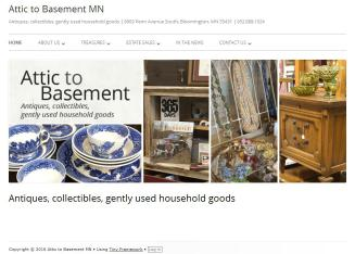 Attic+to+Basement+Thrift+Shop Website