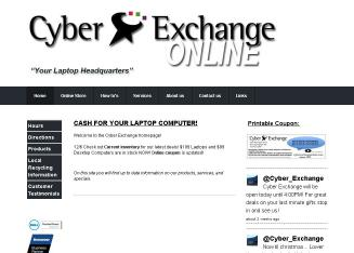 Cyber+Exchange Website