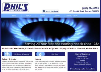 Phil%27s+Propane Website