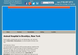 Animal+Clinic+Of+Bensonhurst Website