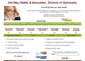 Dr%27s.+May%2C+Hettler+%26+Associates%2C+Doctors+of+Optometry Website