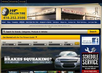 Hillen+Tire+%26+Auto+Service Website