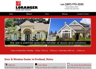 Loranger+Door+%26+Window+Co.+Inc Website