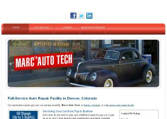 Marc%27s+Auto+Tech Website