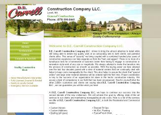 Carroll D E Construction LLC