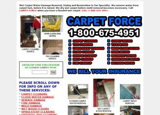 WA DC Carpet Force Wet Carpet Flood Water Damage Clean Up Dry Removal Restoration Service Company DC