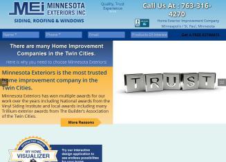 Minnesota Exteriors Inc In Maple Grove Mn 8600 Jefferson Hwy Maple Grove Mn