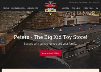 Peters Billiards-The Game Room Store