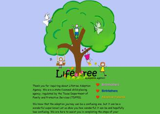 Lifetree+Adoption+Agency Website