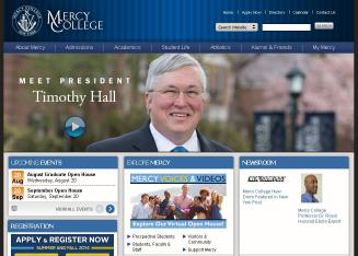 Mercy+College Website