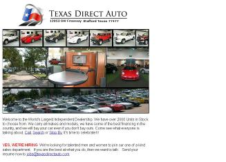 Texas+Direct+Auto Website