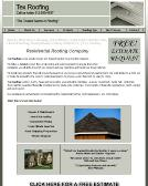 Tex+Roofing Website
