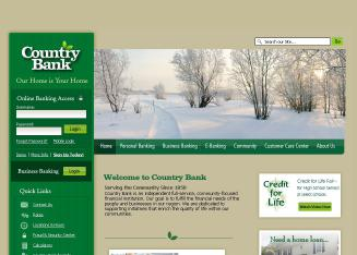 Country+Bank Website