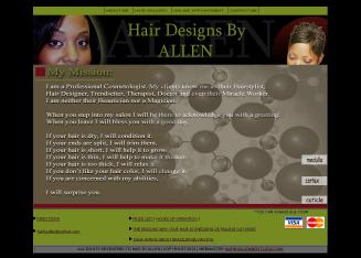 Tresses+%26+Shears Website