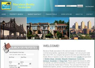 Macaluso+Realty Website