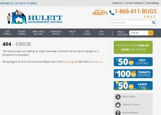 Hulett+Pest+Control Website