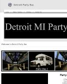 Detroit+Party+Bus Website