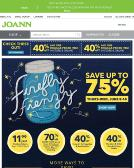 Jo-Ann+Fabrics+%26+Crafts Website