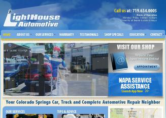 Lighthouse+Automotive Website