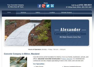 Alexander Concrete And Co